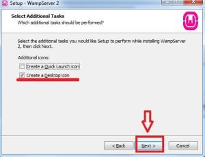 Adicionando o atalho do WAMP Server na Área de Trabalho do Windows 7