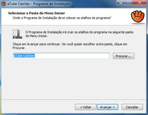 Criação dos atalhos no Menu Iniciar do Windows 7.